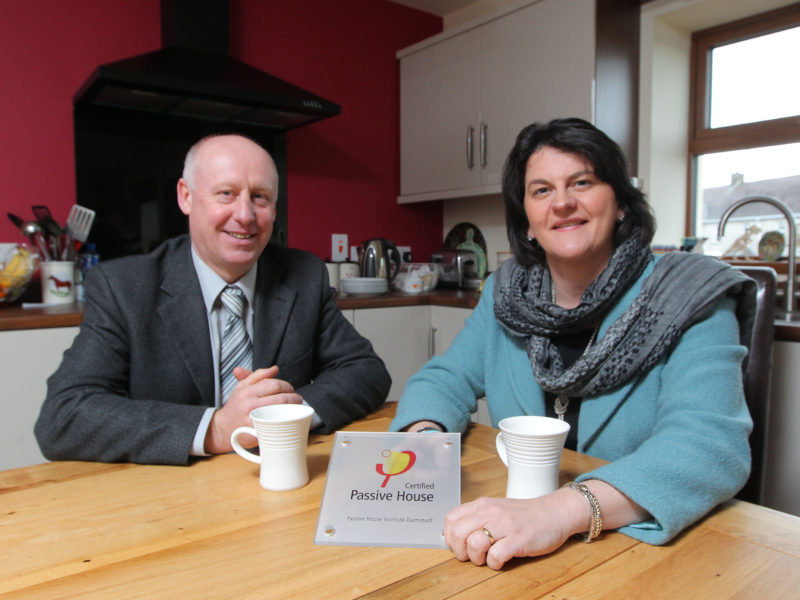 Foster's high praise for Omagh builder